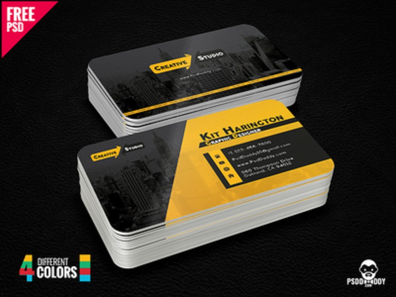 Classic Business Card Bundle Free PSD