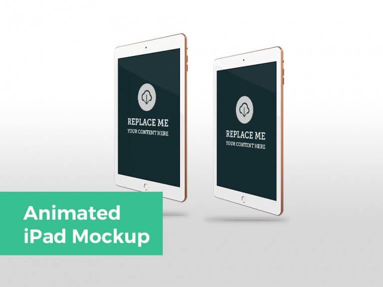 Animated iPad Mockup