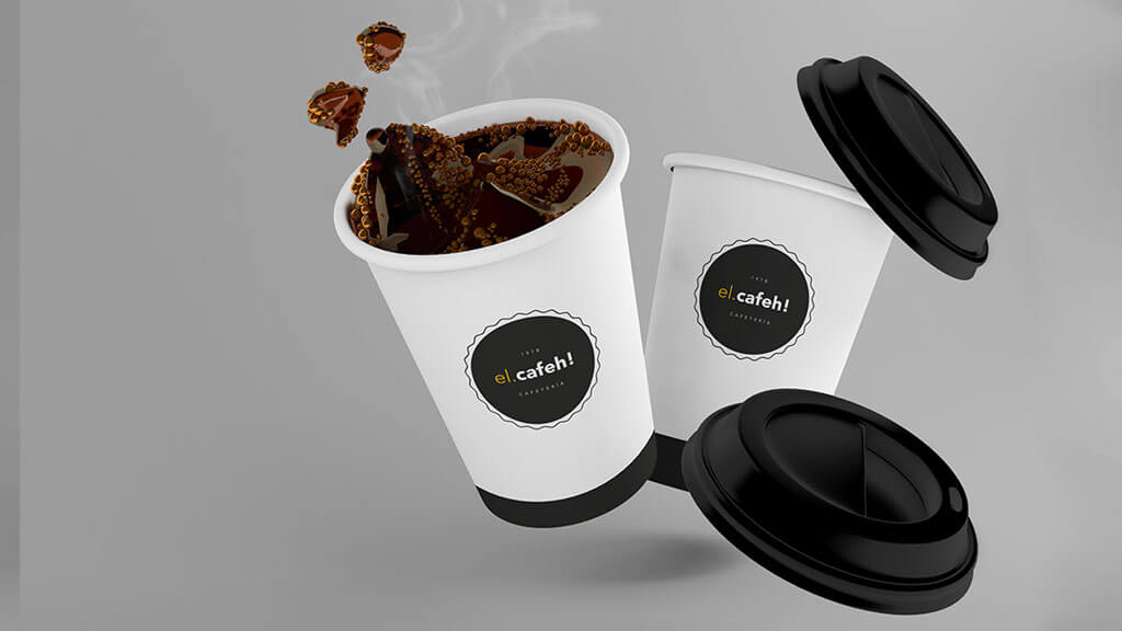 Set of Coffee Cup Mockups