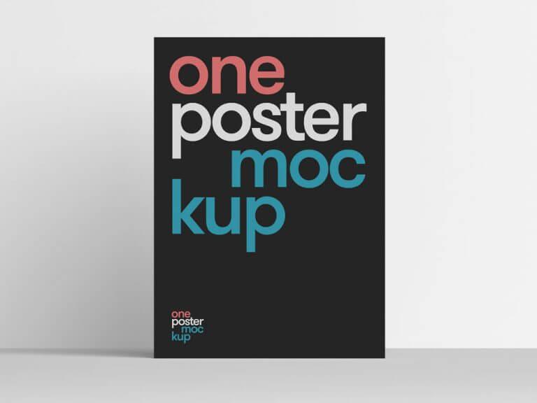 Clean Poster Mockup