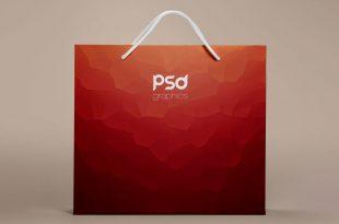 Free Paper Bag Mockups