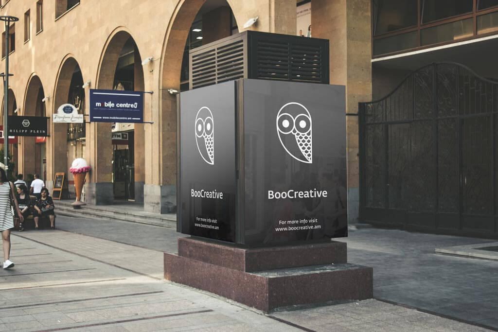 Set of Street Billboards Mockups