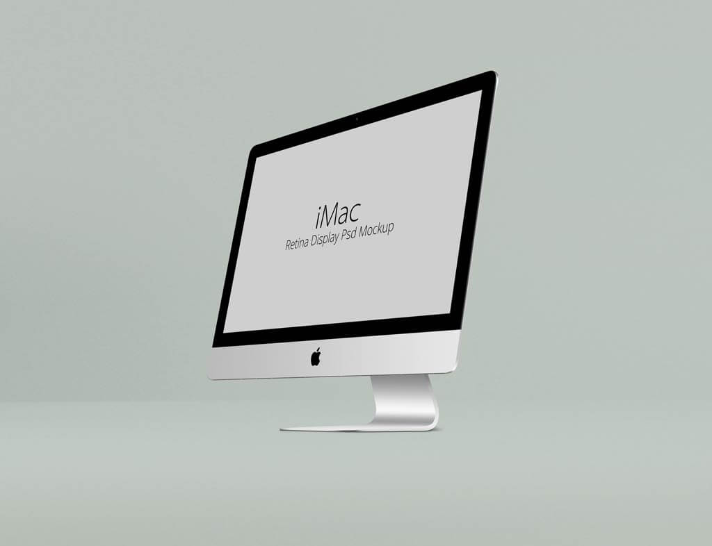 Set of iMac Retina Display Mockups