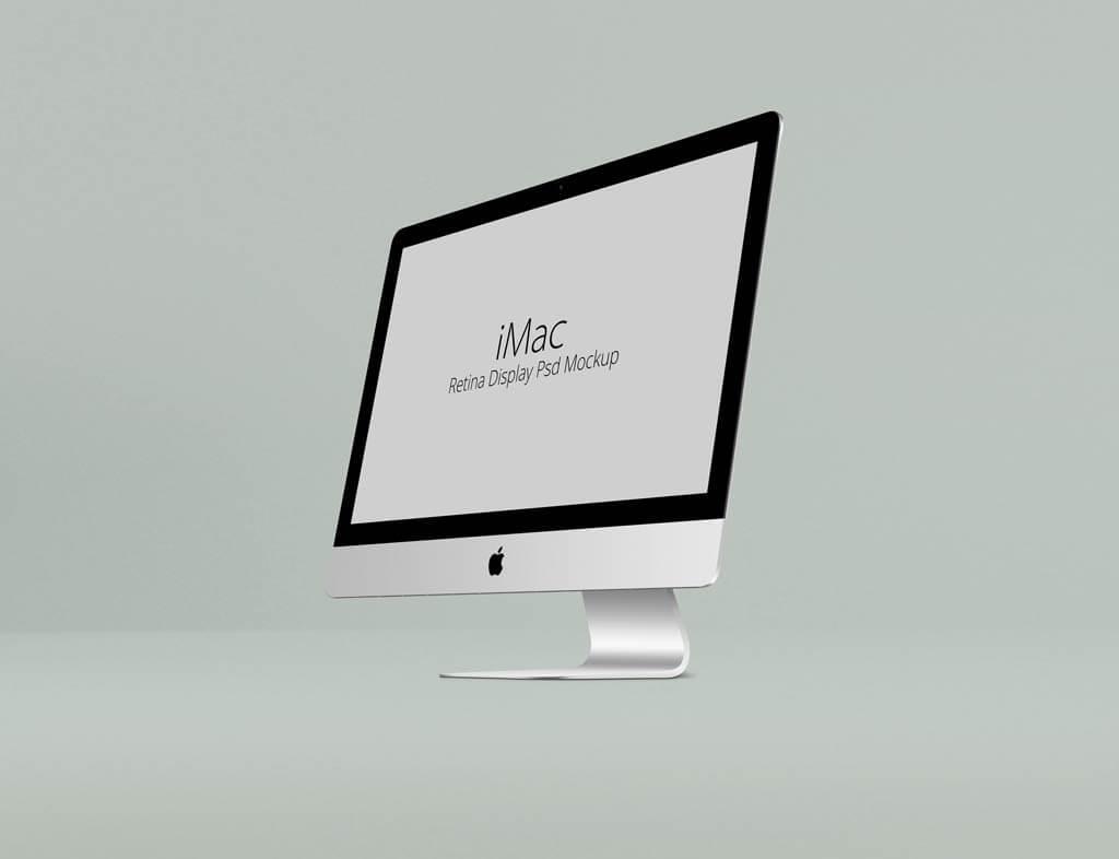 Set of iMac Retina Display Mockups