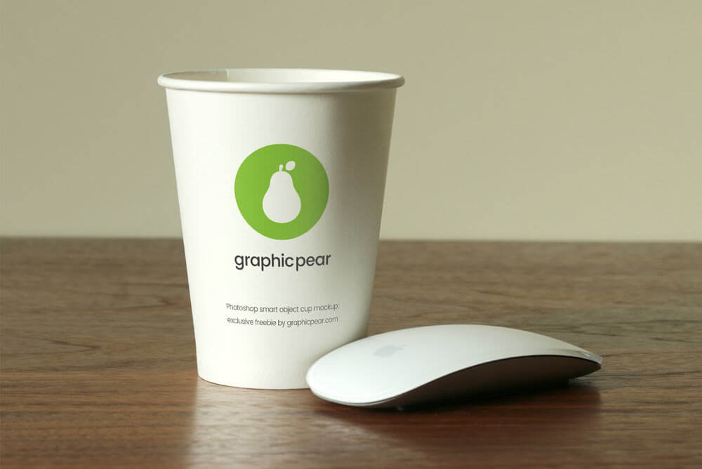 Disposable Paper Cup Mockups