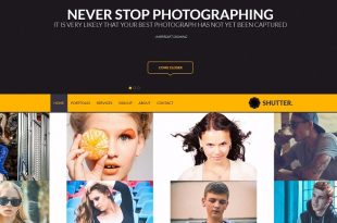 Free Photography Html Website Templates