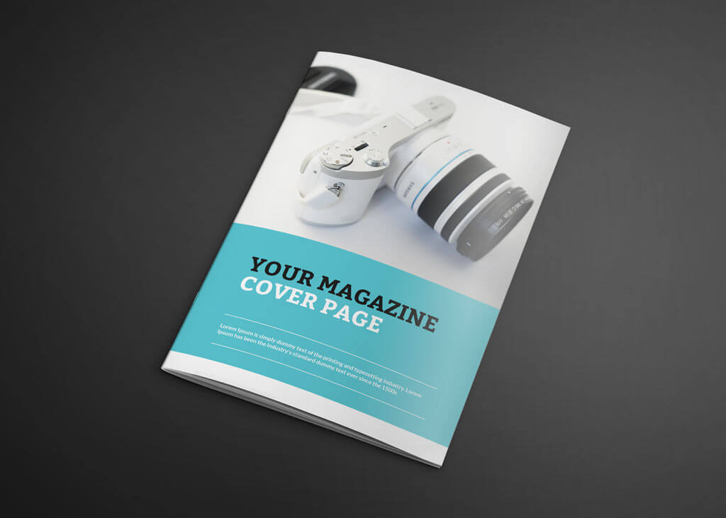 Set of photo-realistic Magazine Mockups