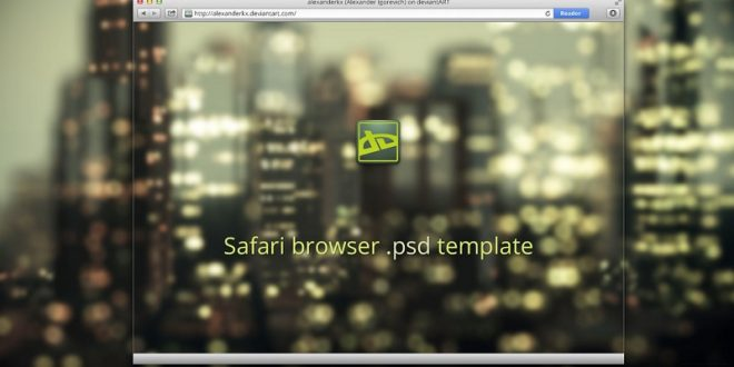 Free Web Browser Mockups/PSD, Vector