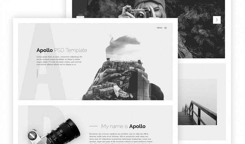 Apollo PSD Template