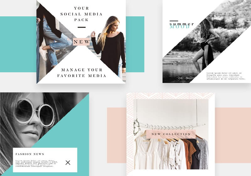 Instagram Fashion Template