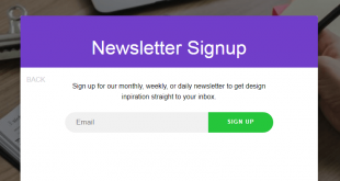 Free HTML5 Signup Form Templates
