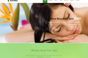 Free Spa Salon Html Website Templates