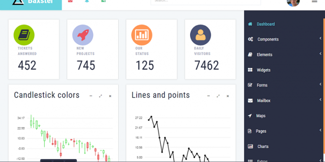 Free Bootstrap Admin Dashboard Templates