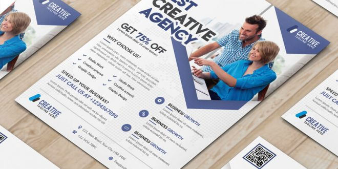Free Marketing Flyer PSD Templates