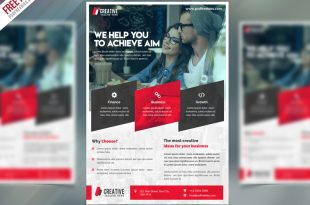 Free Corporate Flyer PSD Templates