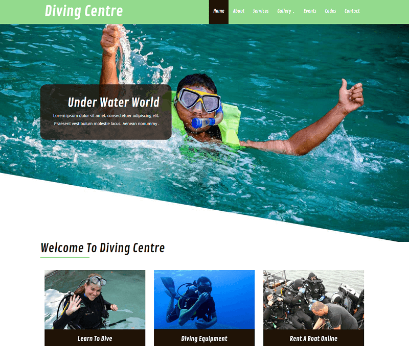 Diving Centre
