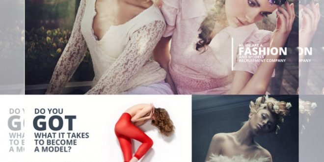 Free Fashion PSD Website Templates