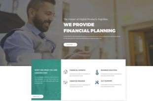 Free Business PSD Website Templates
