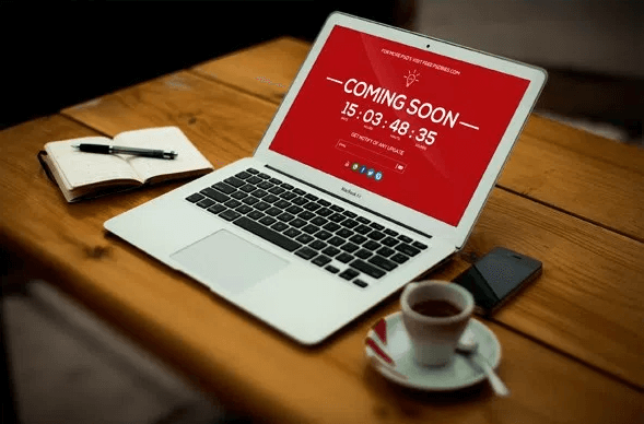 Free Coming Soon Page Psd