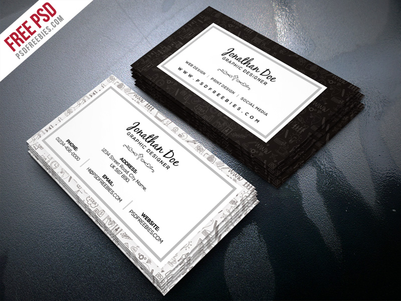 Freelance Designer Business Card