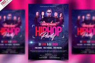 Free Party Flyer PSD Templates