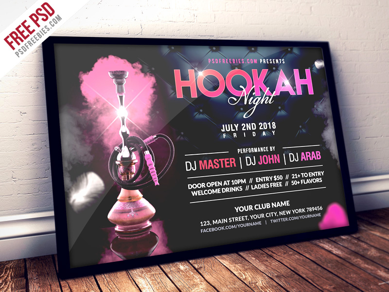 Hookah Night Party