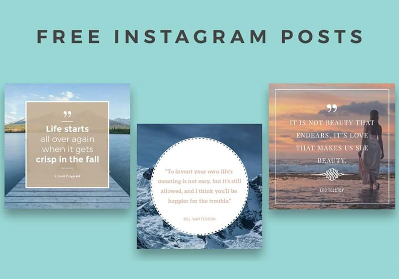 Instagram Posts Template
