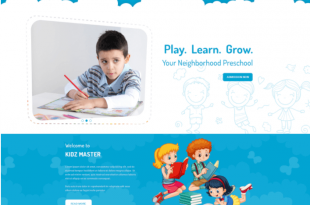 Free Education PSD Website Templates