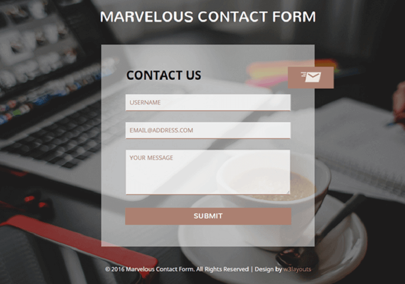 Marvelous Contact Form