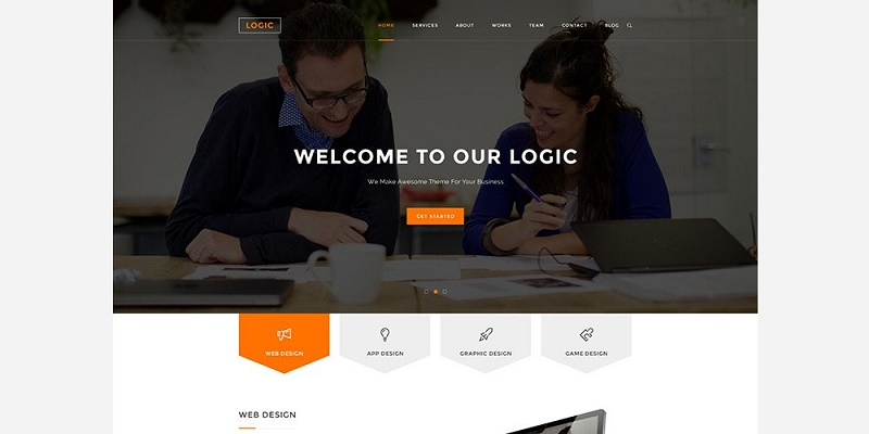 Multipurpose Web Template PSD