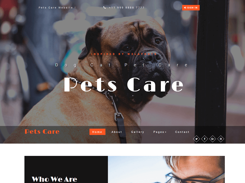 30 Best Free Animals & Pets Html Website Templates 2019