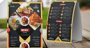 Restaurant Food Menu PSD Templates
