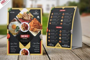 Restaurant Food Menu PSD Templates
