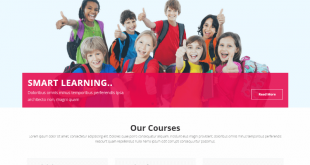 Free School Html Website Templates