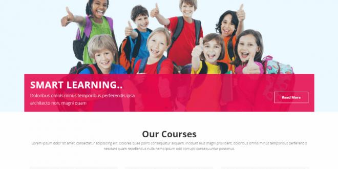 Free School Html Website Templates