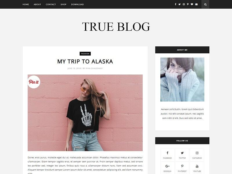 True Blog