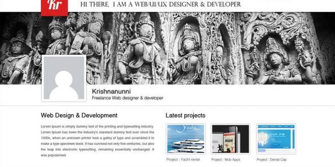 Free Creative PSD Website Templates