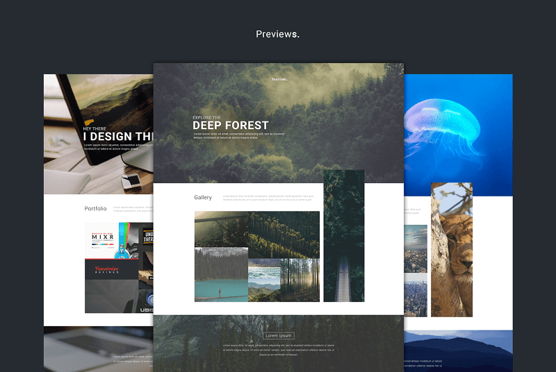Webby Multi-Purpose Web Template