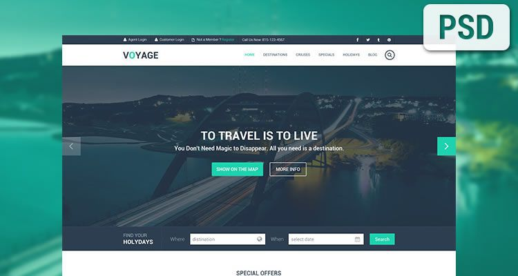 Best Free Website Psd Templates 2019 Free Html Designs