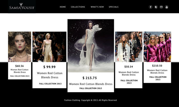 Fashion Collection PSD