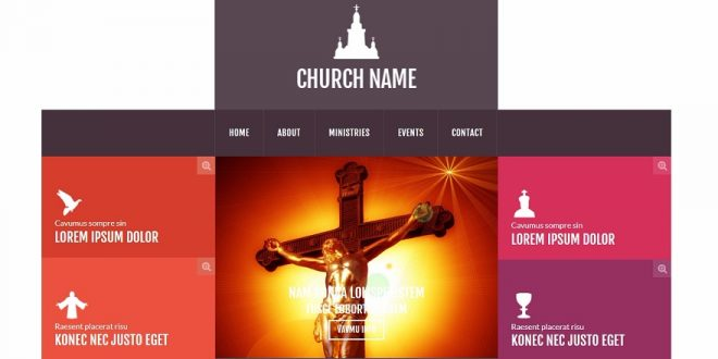 Best Free Church Html Website Templates - Church website templates
