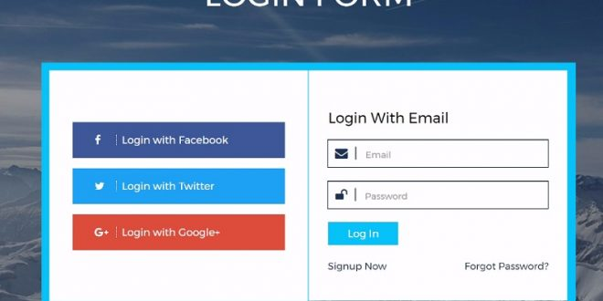 50 Best Free HTML5 Login Form Templates 2018 For web applications