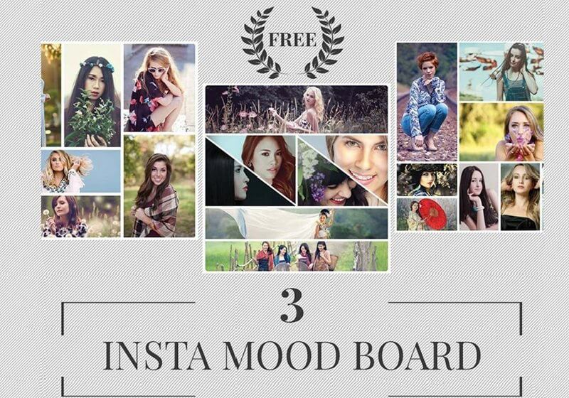 Instagram Mood Board Template