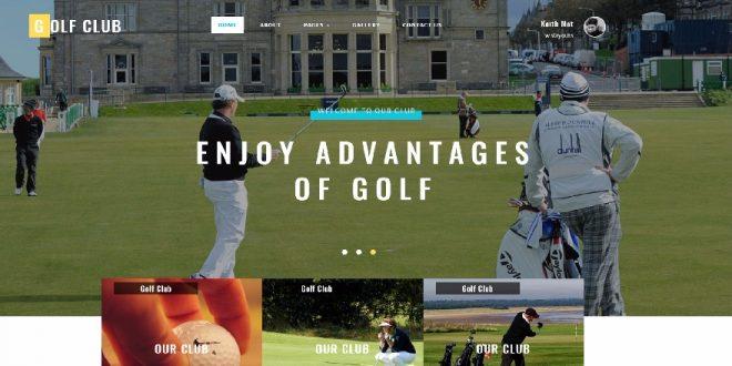 Free Sports Html Website templates