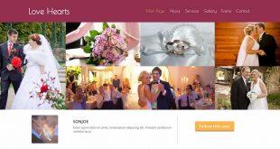 Free Wedding Html Website Templates