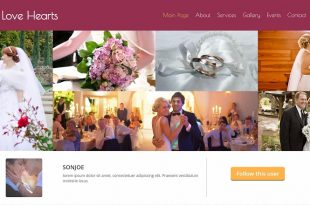 Free Wedding Html Website Templates