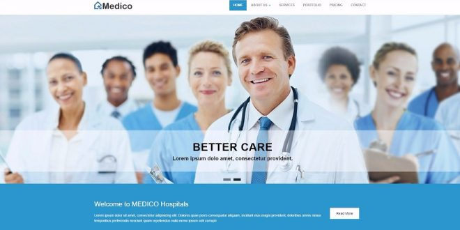15+ Best Free Health Medical Html Website Templates 2019