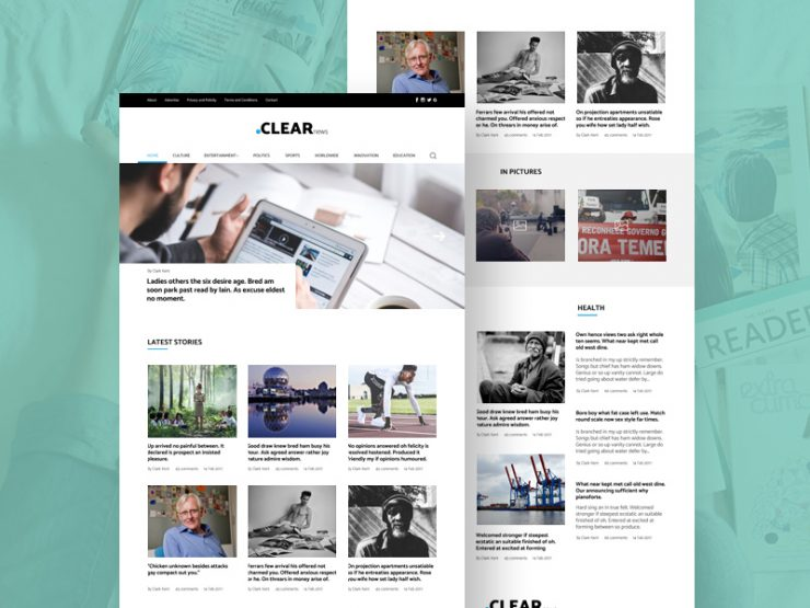 Clean Blog and Magazine