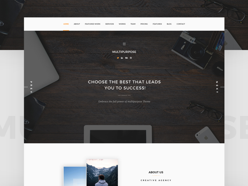 Freebies - Multipurpose PSD Template