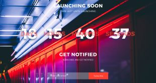 Free Coming Soon PSD Website Templates